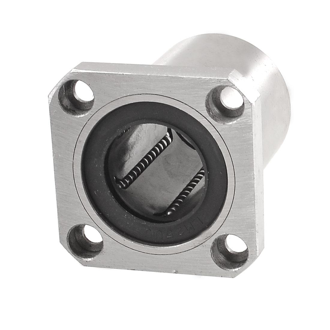 25mm Inner Diameter Square Flange Linear Motion Bushing Ball Bearing LMK25UU