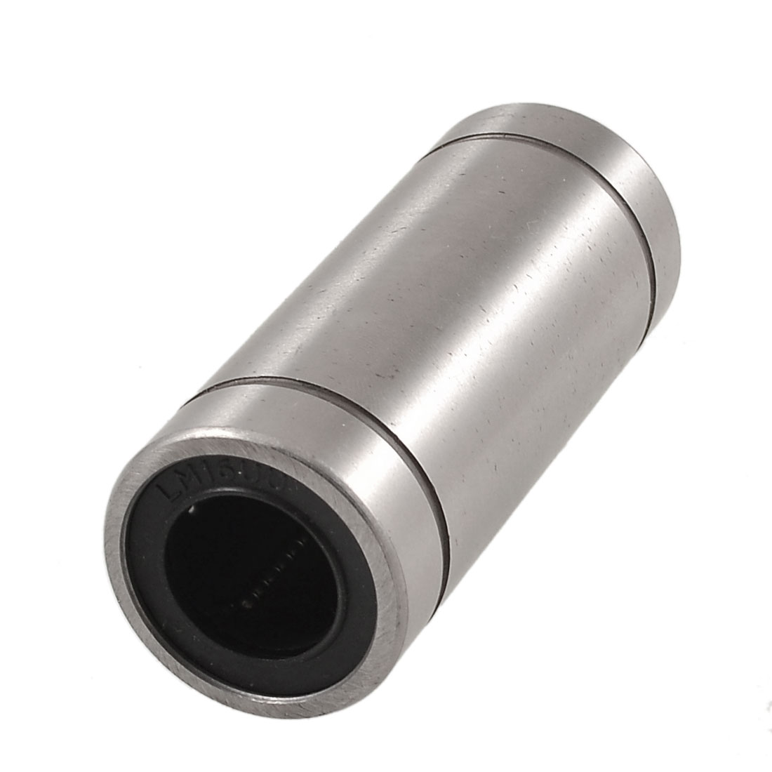 LM16LUU Cylinder Shape Carbon Steel Linear Motion Ball Bearing 16x28x70mm