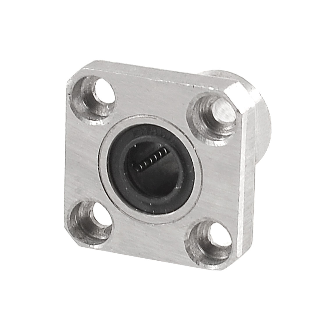 8mm Inner Diameter Square Flange Linear Motion Bushing Ball Bearing LMK8UU