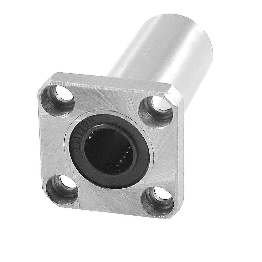 12mm x 21mm x 57mm Square Flange Linear Motion Ball Bearing LMK12UU