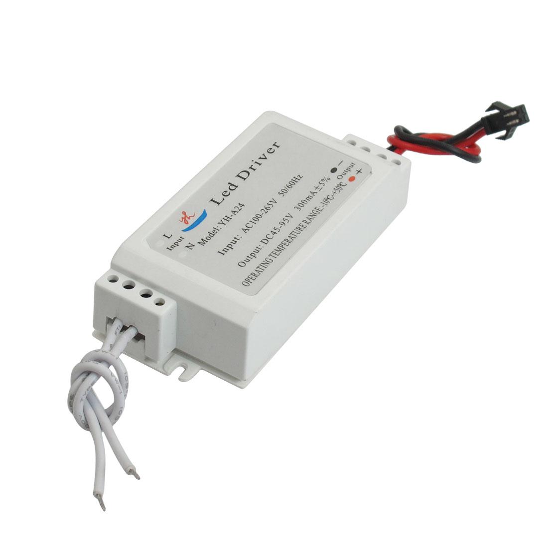 16-24W Output DC 45-95V 300mA LED Driver Power Supply Transformer