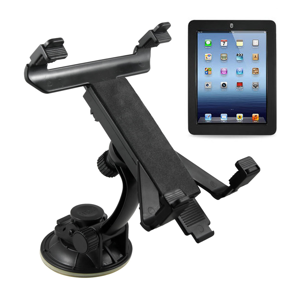 Car Holder Mount Stand Kit Crandle Windshield for Universal Tablet Apple iPad 1 2 3