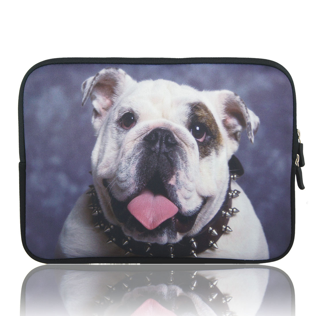 "Pug Print 10"" 10.1"" 10.2"" Neoprene Notebook Laptop Sleeve Bag Case for Asus"