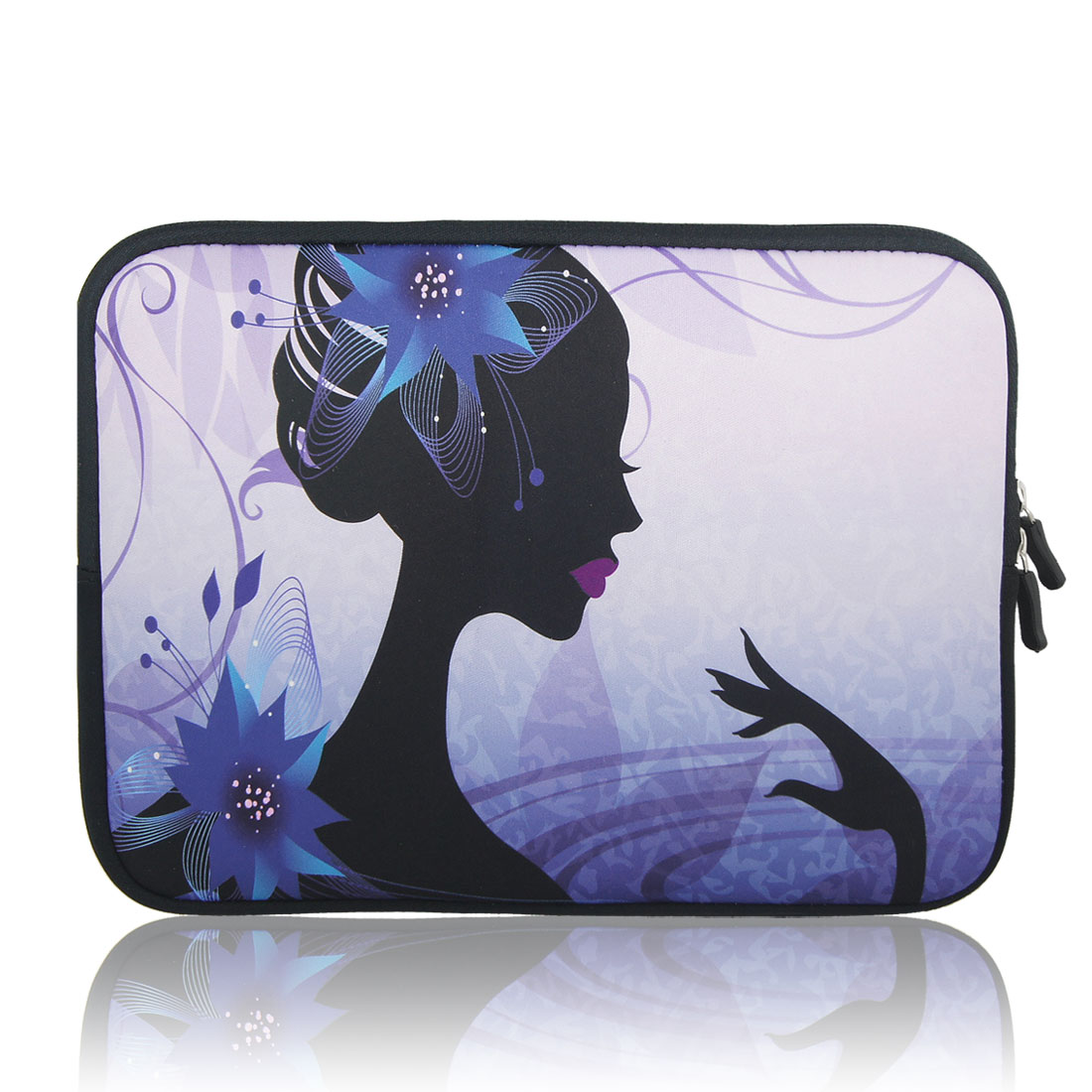 "Pretty Girl 10"" 10.1"" 10.2"" Neoprene Notebook Laptop Sleeve Bag Case for Asus"