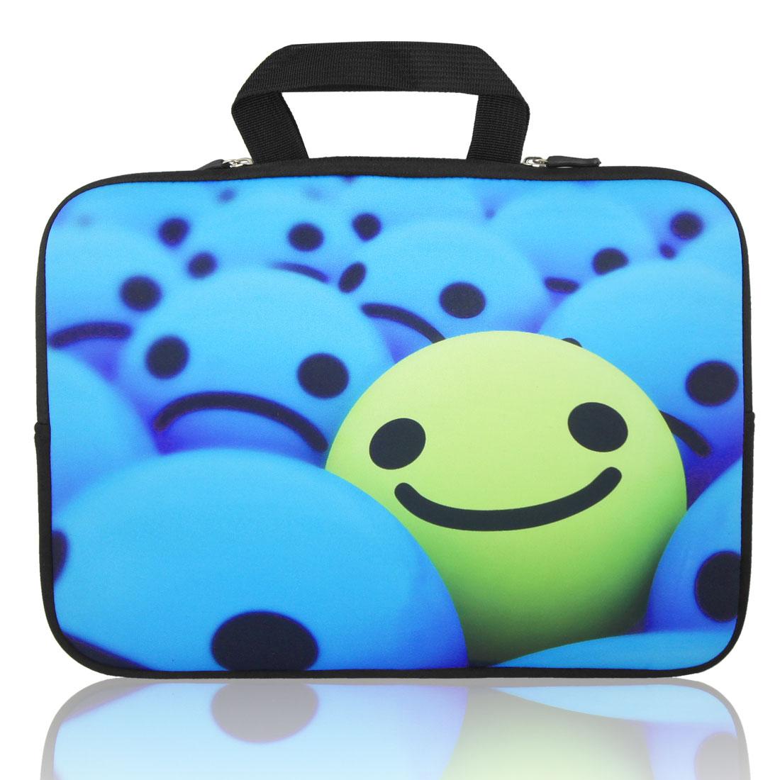 "Smile Face 10"" 10.1"" 10.2"" Neoprene Notebook Laptop Sleeve Bag Case"