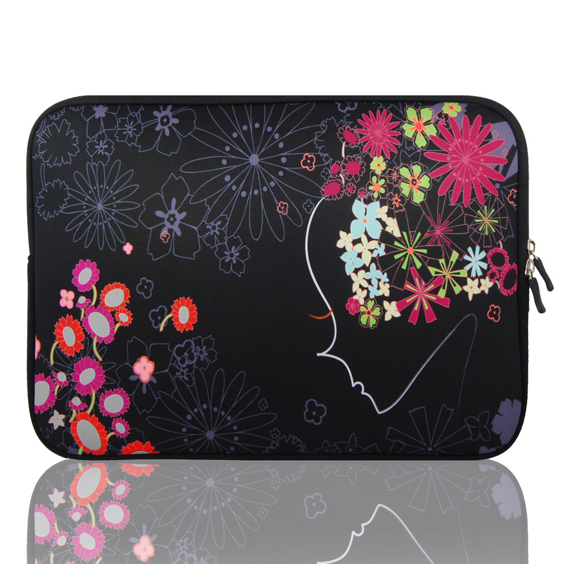 "13"" 13.3"" Flower Neoprene Laptop Notebook Sleeve Bag Pouch for HP Asus"