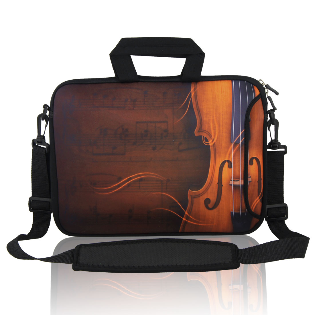 """13"""" 13.3"""" Guitar Notebook Laptop Shoulder Bag Case w Handle for Acer"""
