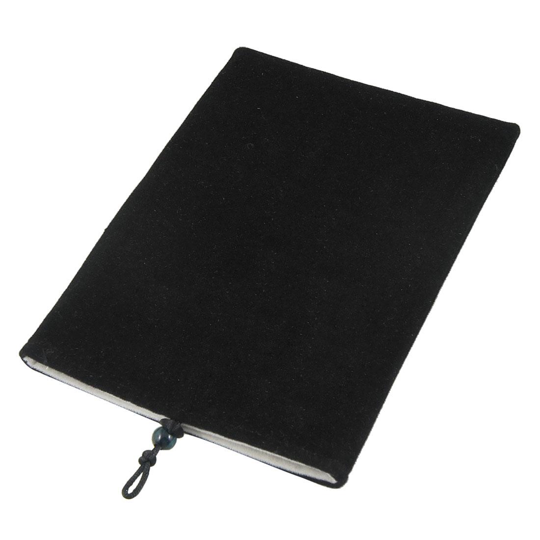 "Black Velvet Protect Pouch Bag Cover Sleeve Case for 8"" Ebook Reader Tablet"