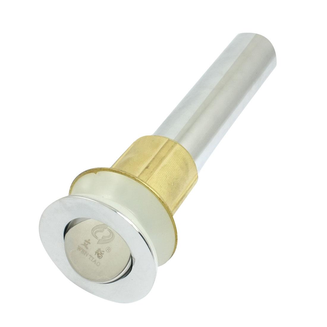 Bathroom Kitchen Stainless Steel Brass Pop Up Water Liquid Drainer Sink Drain