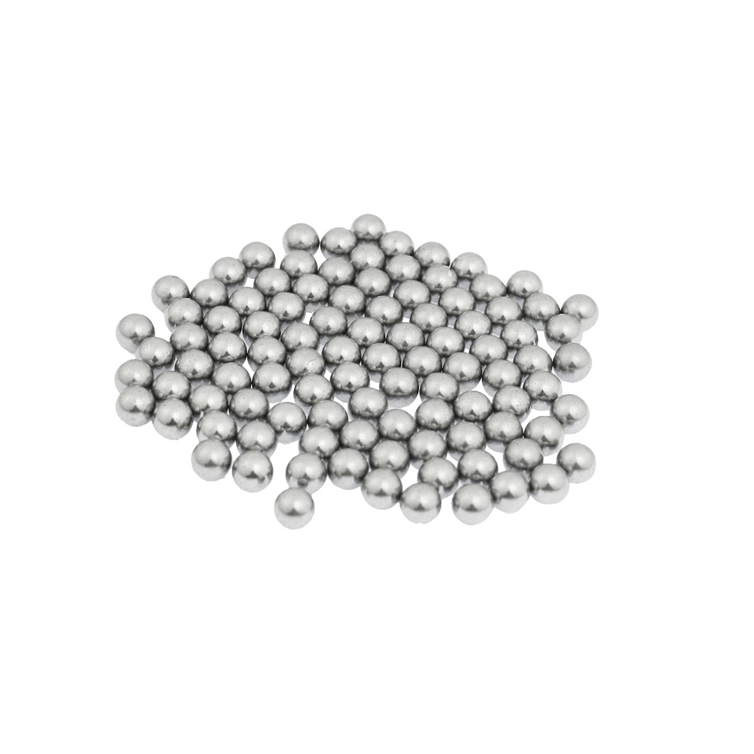 "200 Pcs Carbon Steel Balls Bearings 5mm 1/5"" for Bicycle Casters"