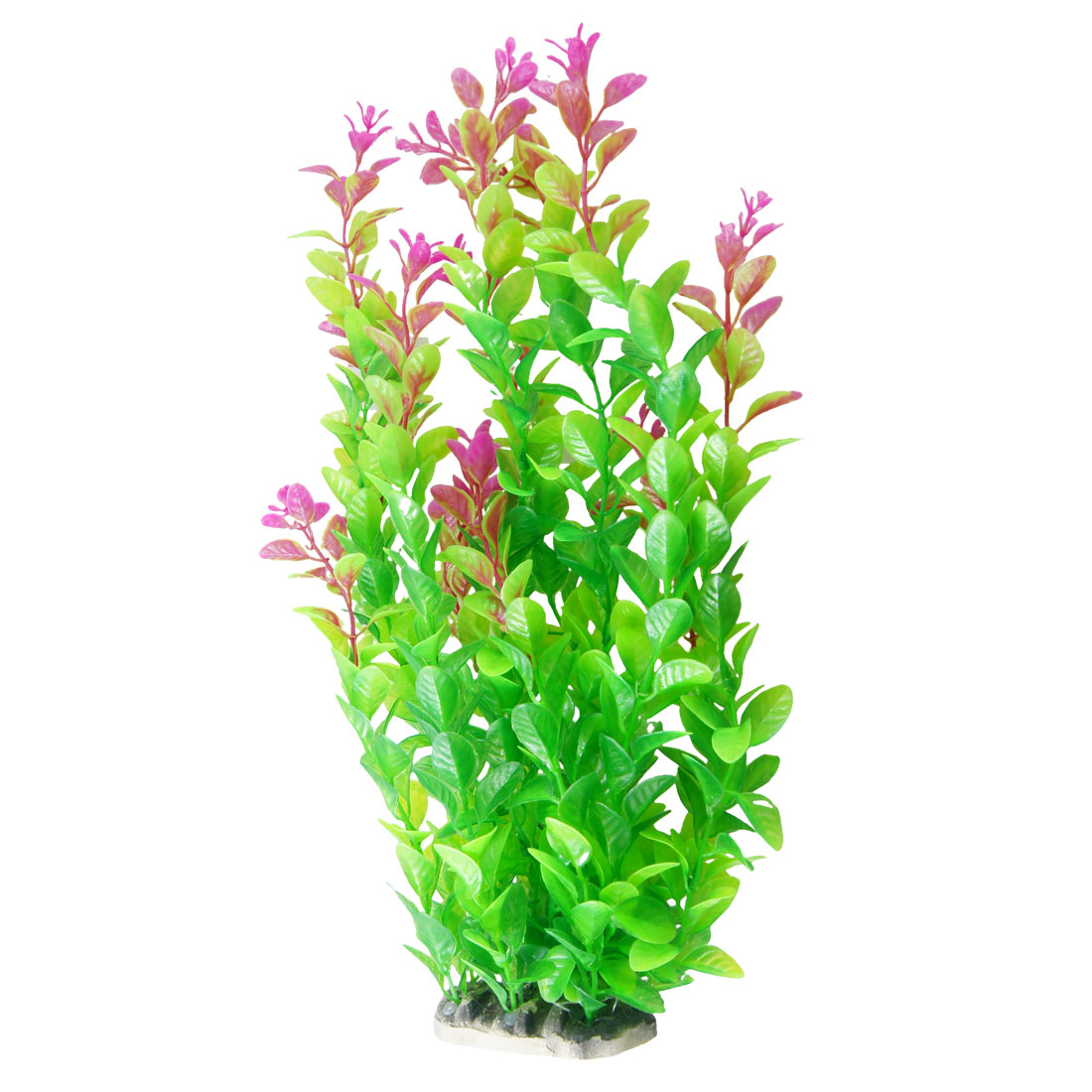 "13.8"" Length Green Fuchsia Aquarium Fish Tank Simulation Decorative Float Grass"
