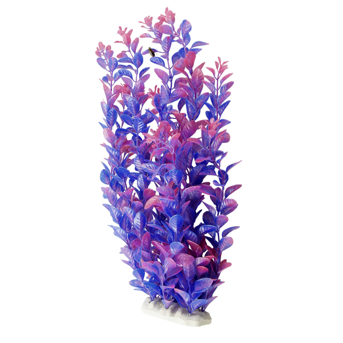 "13.8"" Length Blue Purple Fish Tank Aquarium Simulation Decorative Float Grass"