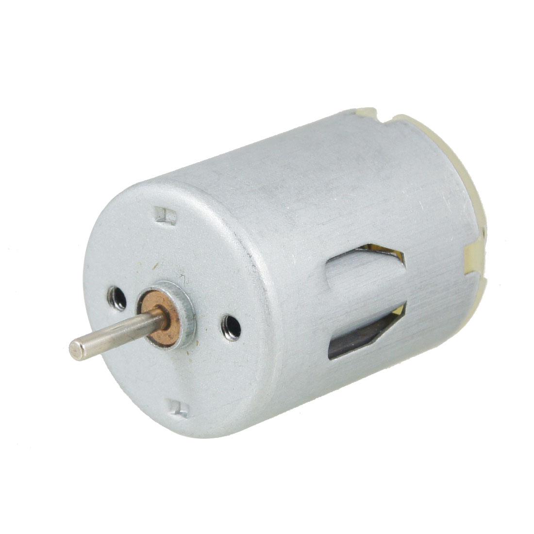 7800RPM DC 12V 2mm Shaft Diameter 2 Terminals Electric Micro Motor