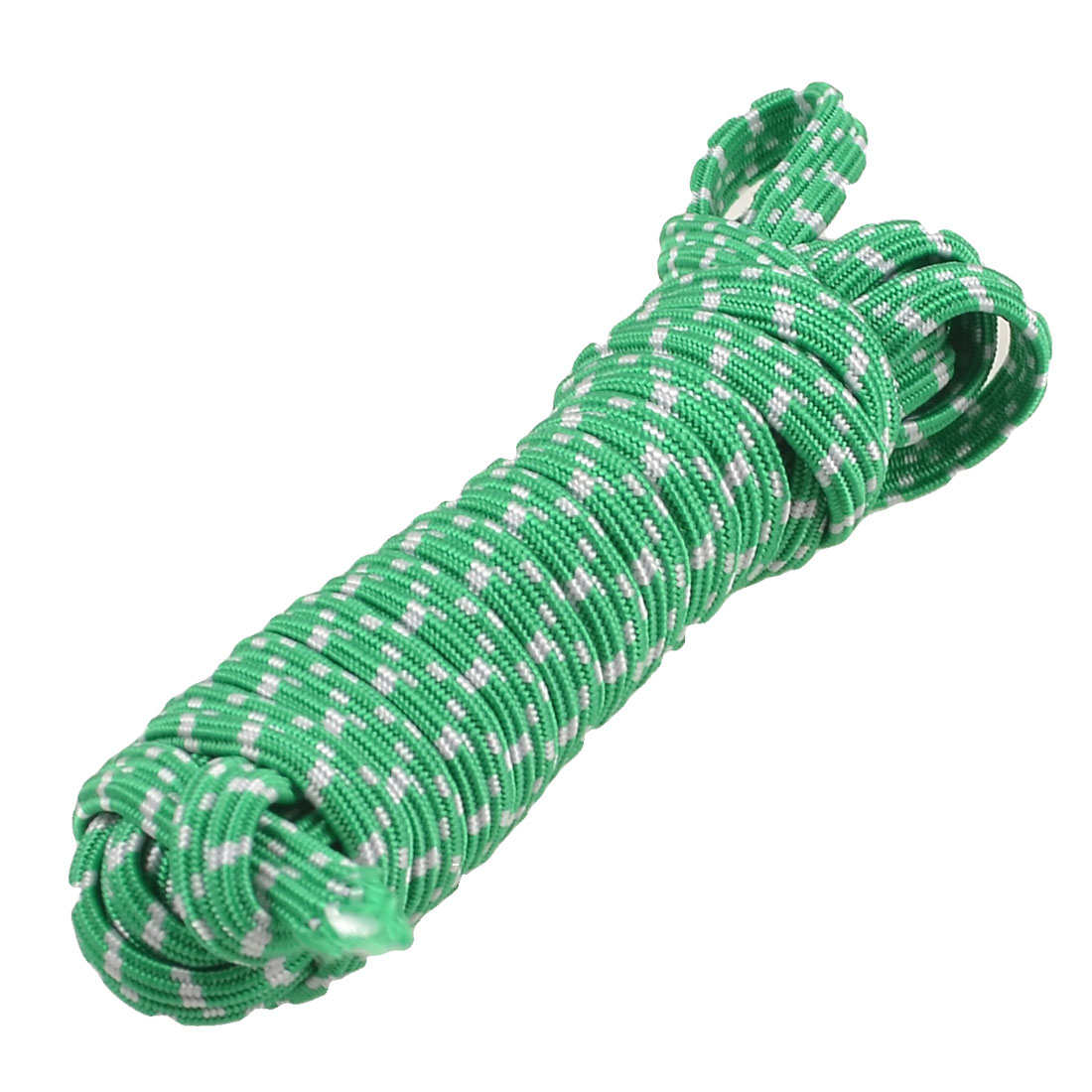 White Green Elastic Bands 3.1M 10.1Ft Length for Trousers