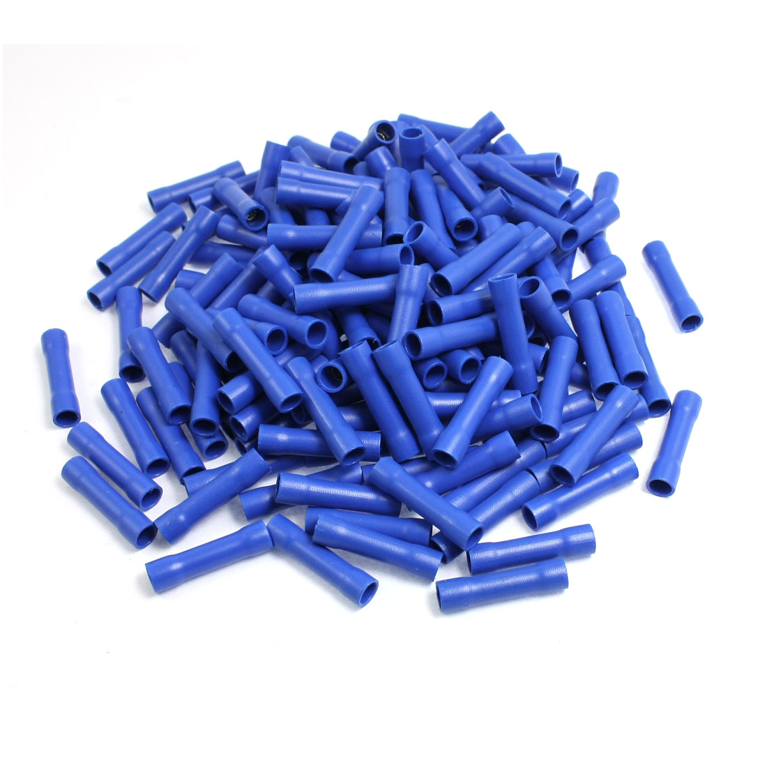 FRD2-195 Blue PVC Insulating Female Crimp Cable Terminals Connectors 200pcs