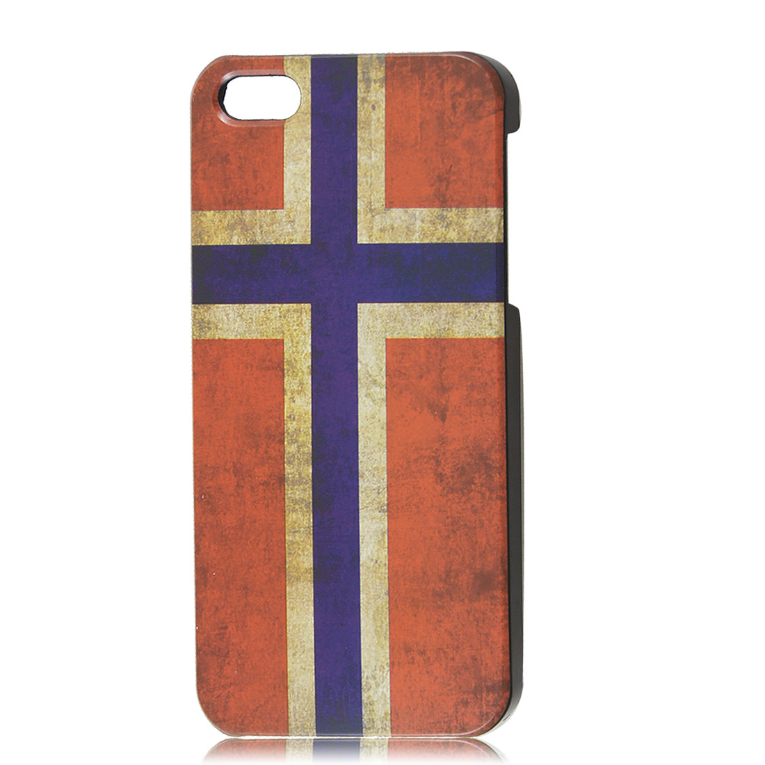 Retro Style Norway National Flag Hard Case Back Cover Protector for iPhone 5 5G