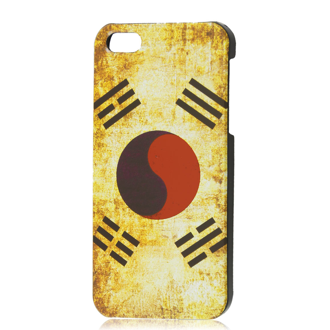 Retro Style South Korea National Flag Hard Case Back Cover Shell for iPhone 5 5G