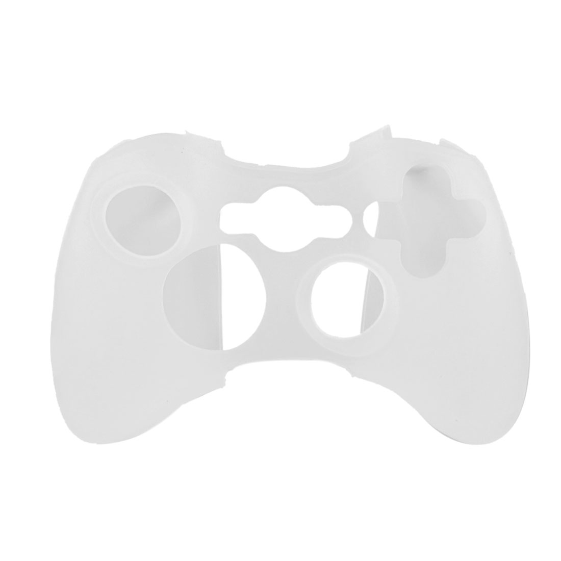 White Soft Silicone Skin Case Cover for Microsoft Xbox 360 Controller