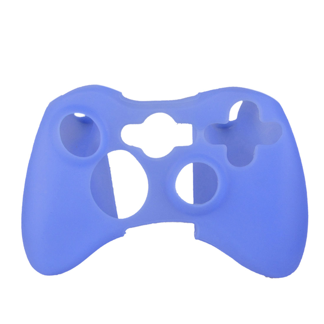 Blue Soft Silicone Skin Case Cover for Microsoft Xbox 360 Controller