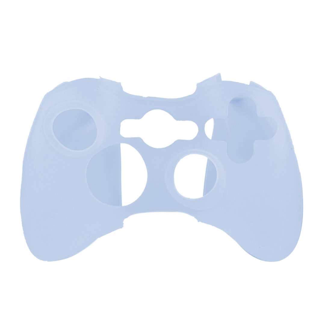 Light Blue Silicone Skin Case Cover for Microsoft Xbox 360 Controller