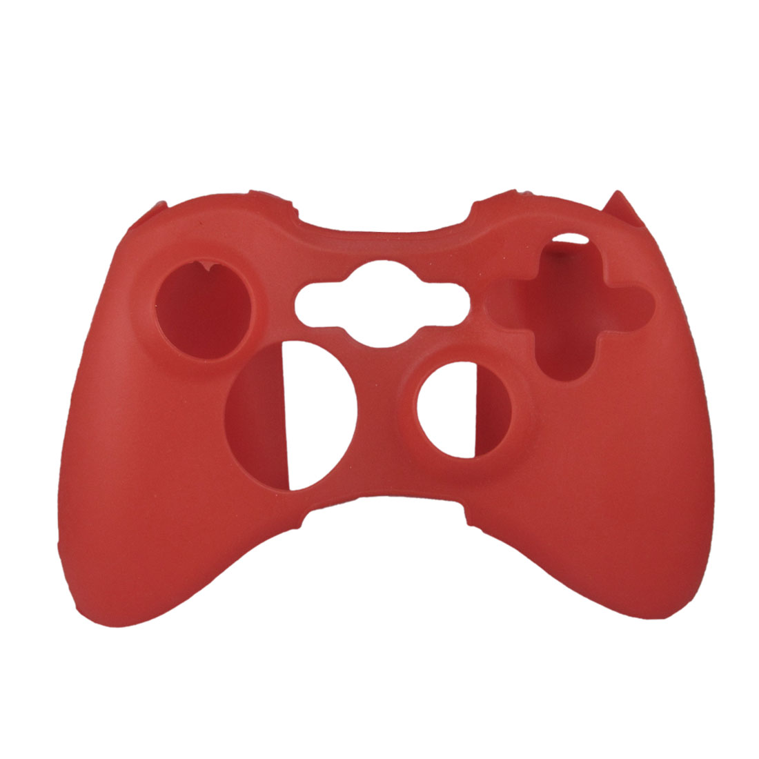 Red Soft Silicone Skin Case Cover for Microsoft Xbox 360 Controller