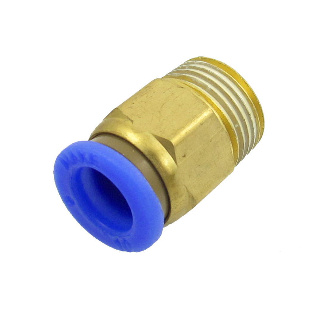 "1/8"" Thread One Touch Push In Pneumatic Quick Connector for 6mm Tubing"