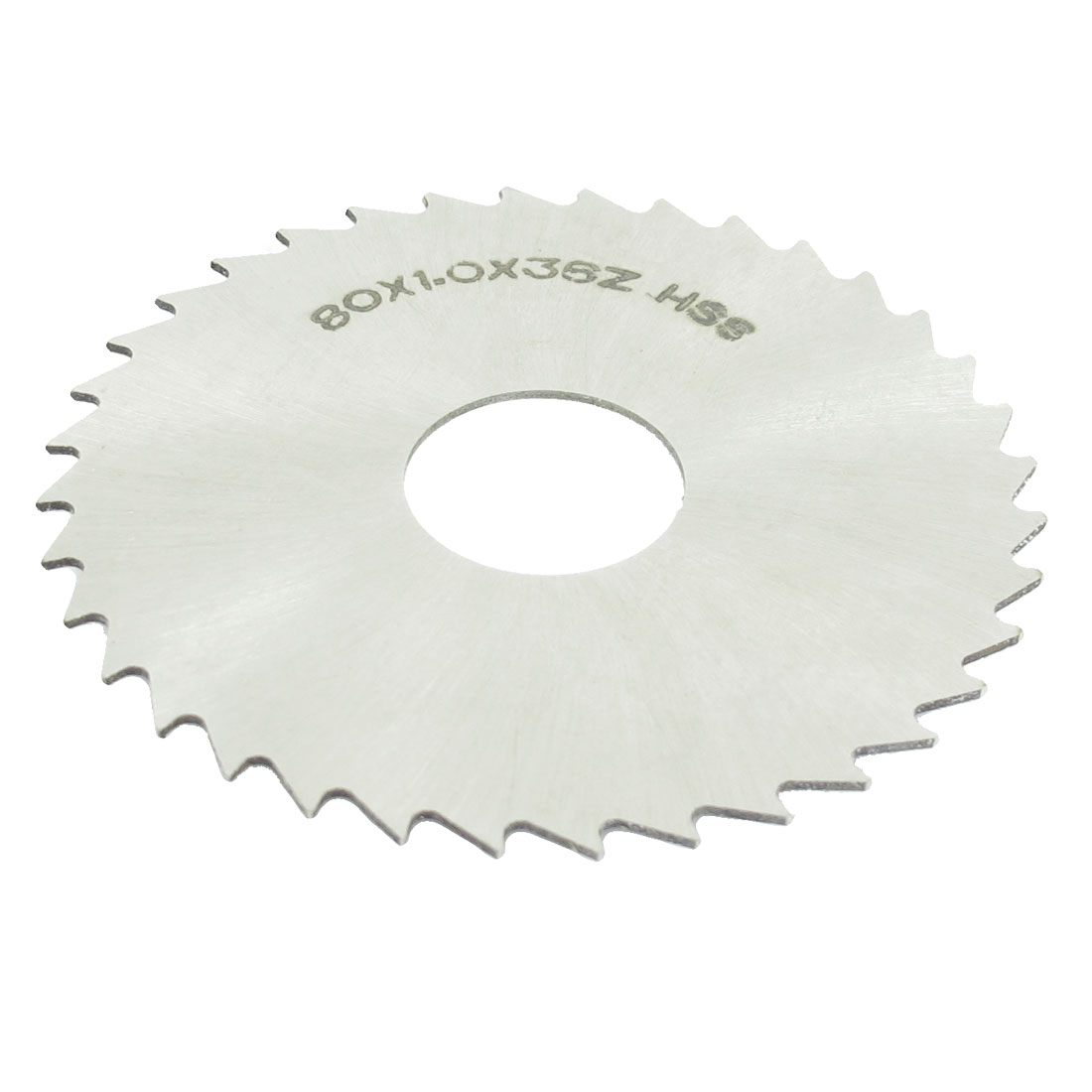 HSS 80mm Dia 1mm Thickness 36 Teeth Circular Milling Cutter Saw