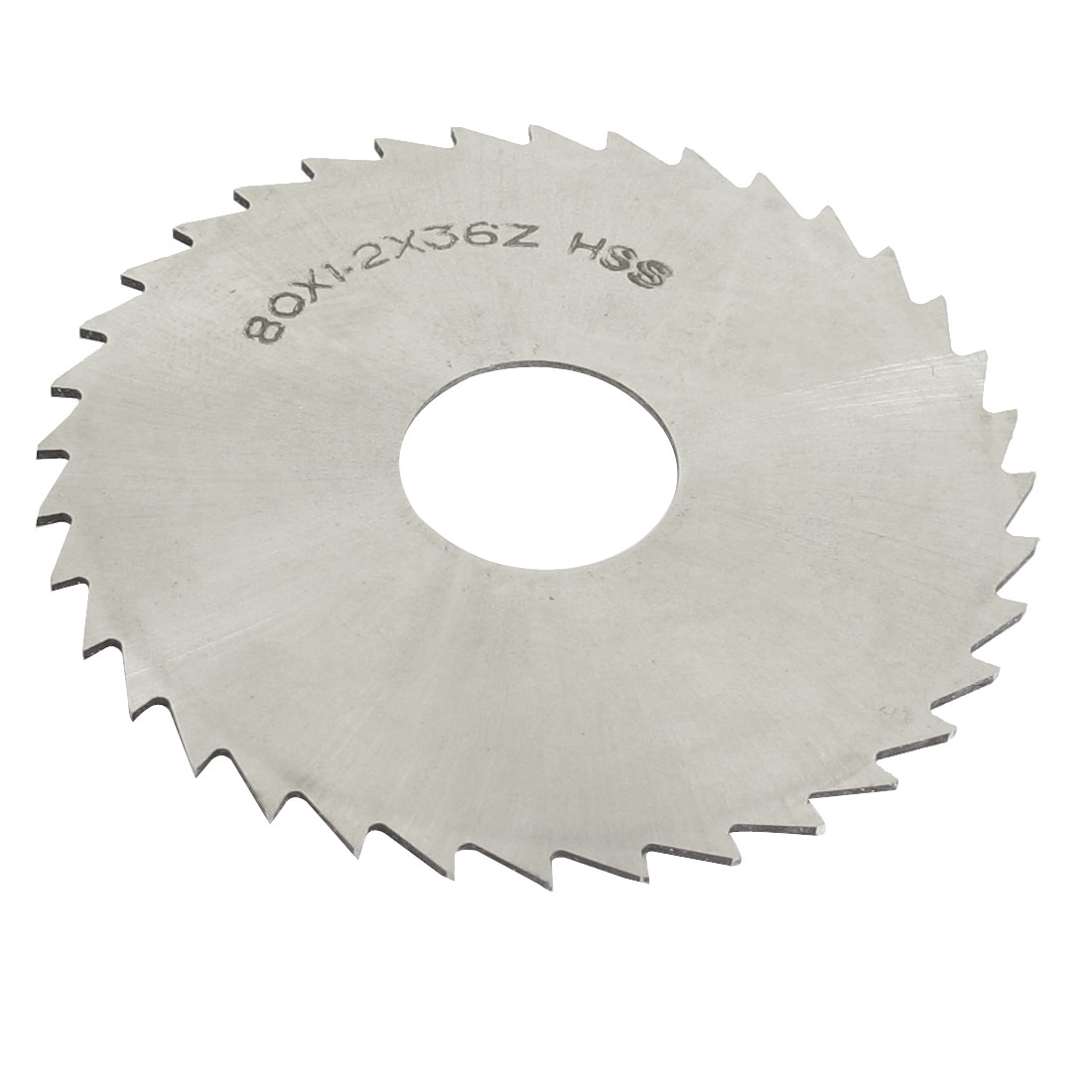 Hand Tool 80mm x 22mm x 1.2mm 36 Peg Teeth HSS Slitting Saw Blade