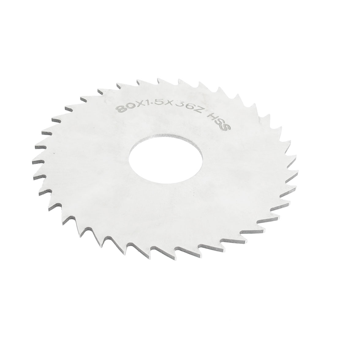 Hand Tool 80mm x 22mm x 1.5mm 36 Peg Teeth HSS Slitting Saw