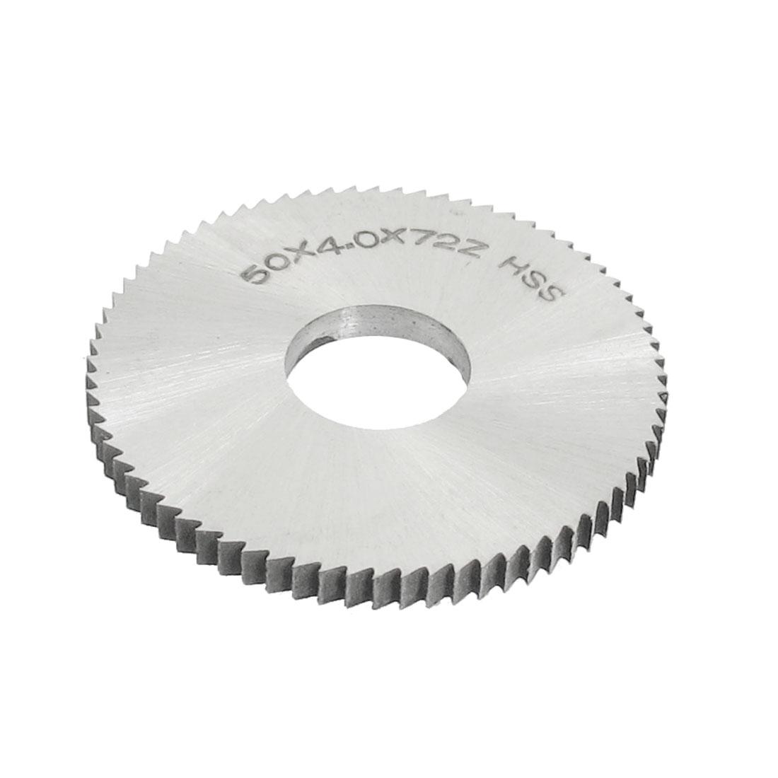 Cutting Tool 50mm x 16mm x 4mm 72 Peg Teeth HSS Slotting Saw