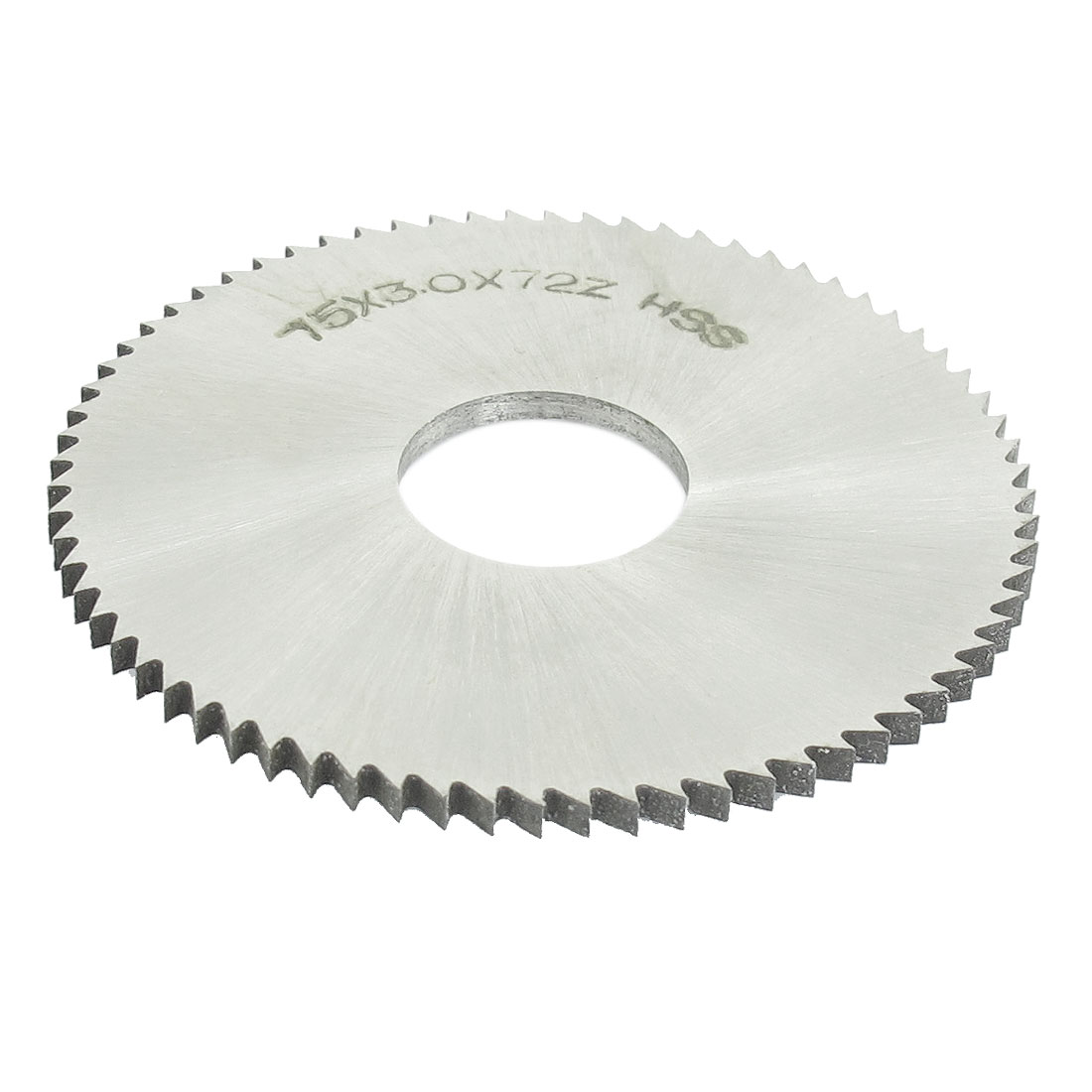 HSS 75mm Diameter 3mm Thickness 72 Teeth Circular Milling Cutter Saw