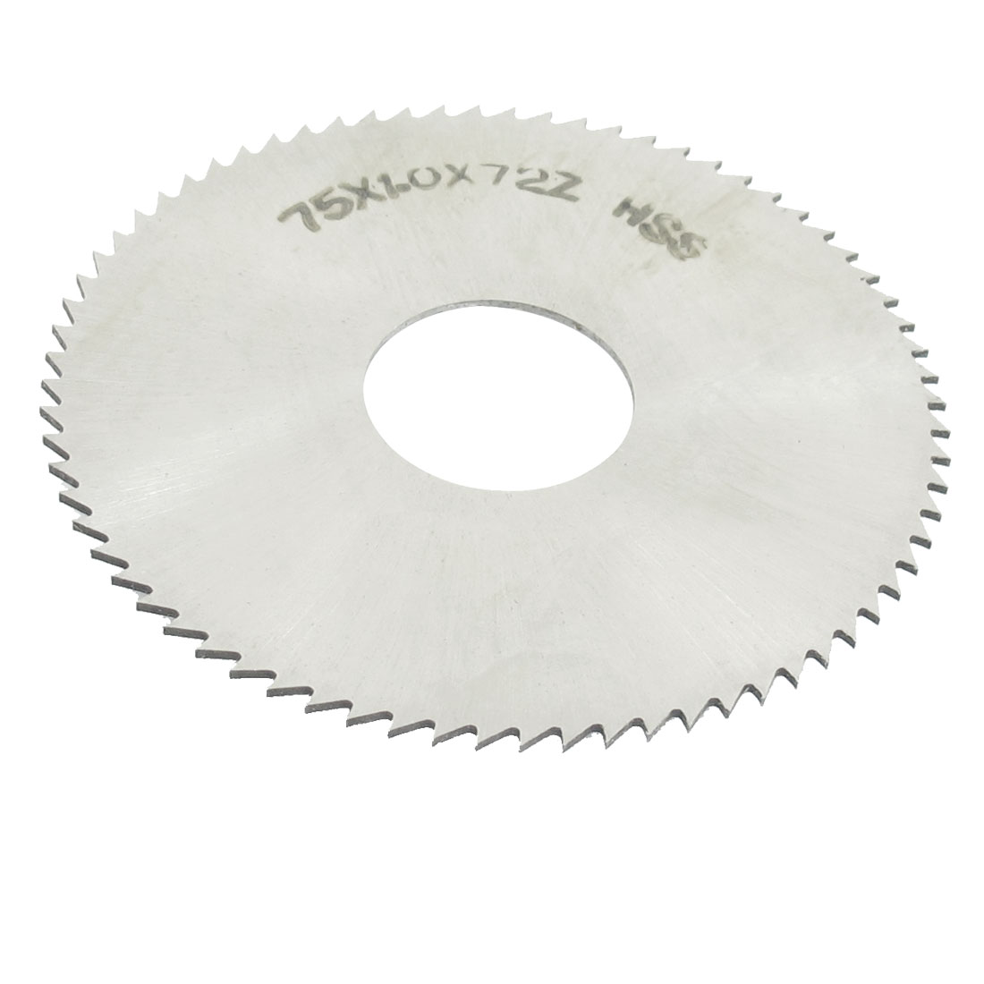 HSS 75mm Dia 1mm Thickness 72 Teeth Circular Milling Cutter Saw