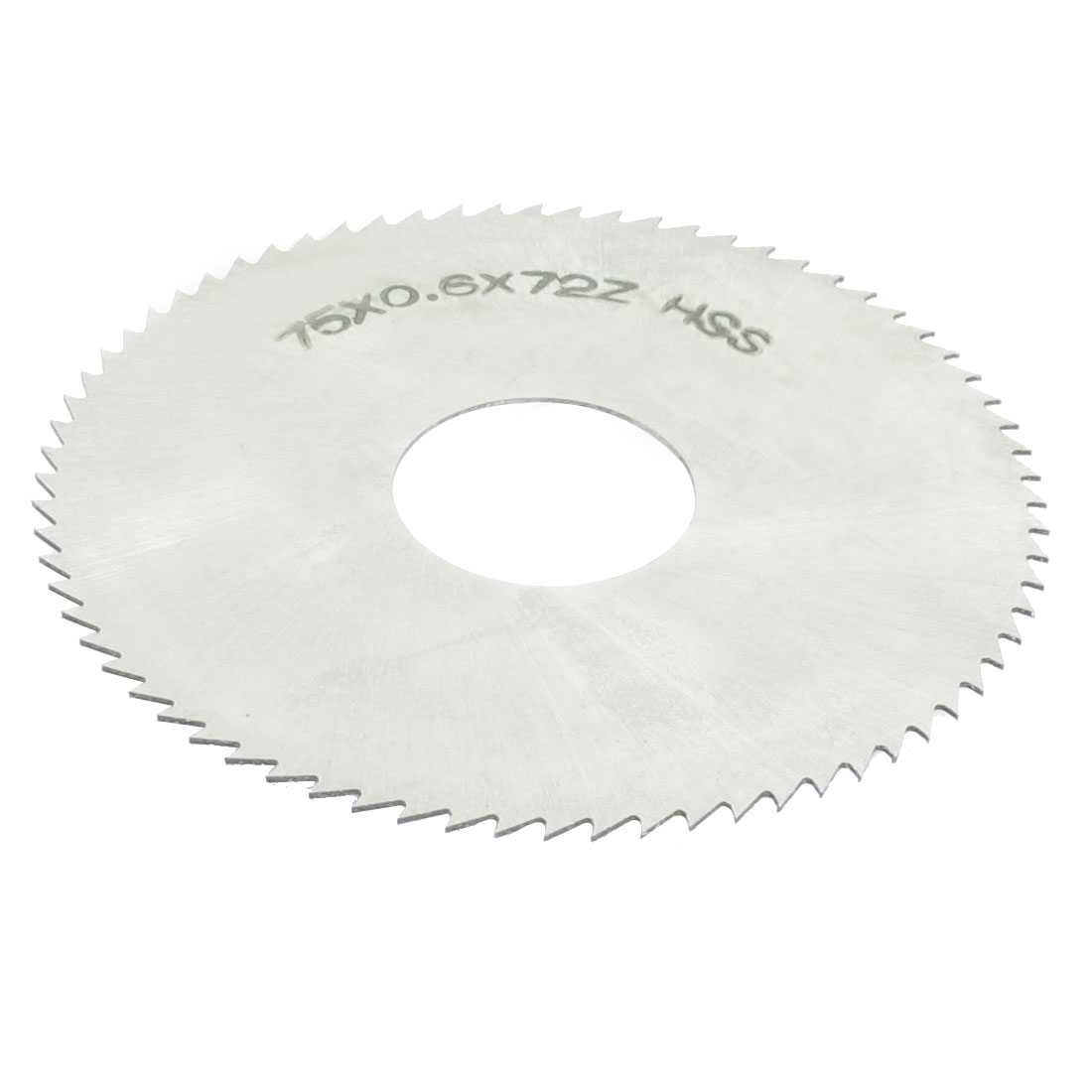 Hand Tool 75mm x 22mm x 0.6mm 72 Peg Teeth HSS Slitting Saw