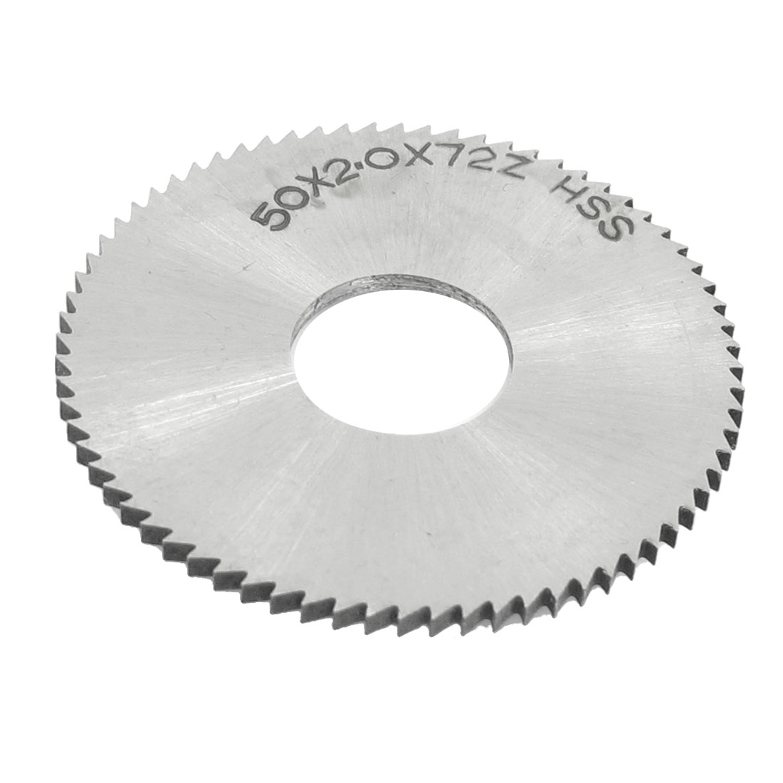 Cutting Tool 50mm x 16mm x 2mm 72 Peg Teeth HSS Slitting Saw
