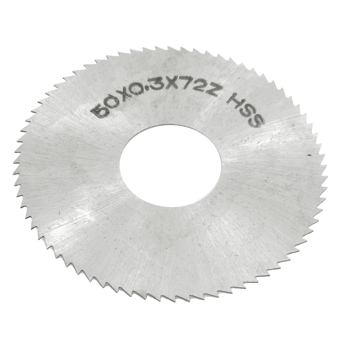 HSS 50mm Dia 0.3mm Thickness 72 Teeth Circular Milling Cutter Saw