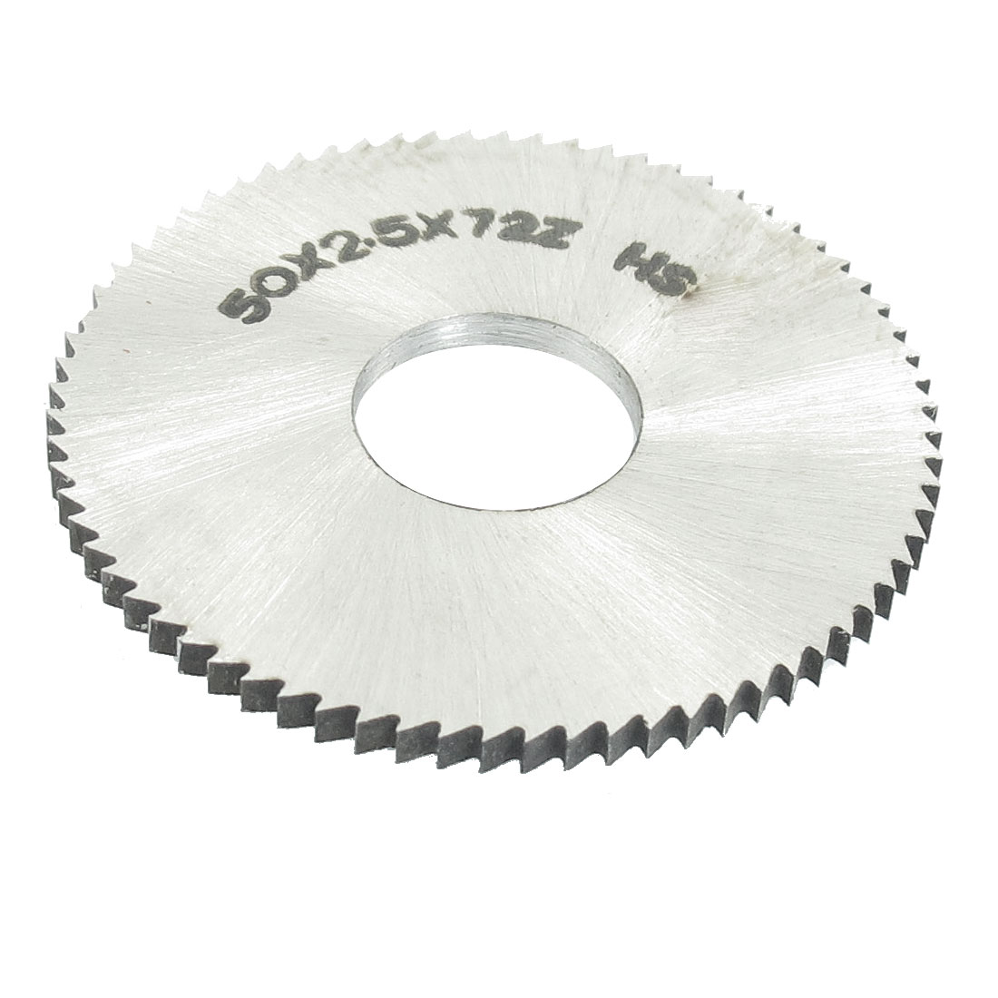 Hand Tool 50mm x 16mm x 2.5mm 72 Peg Teeth HSS Slitting Saw