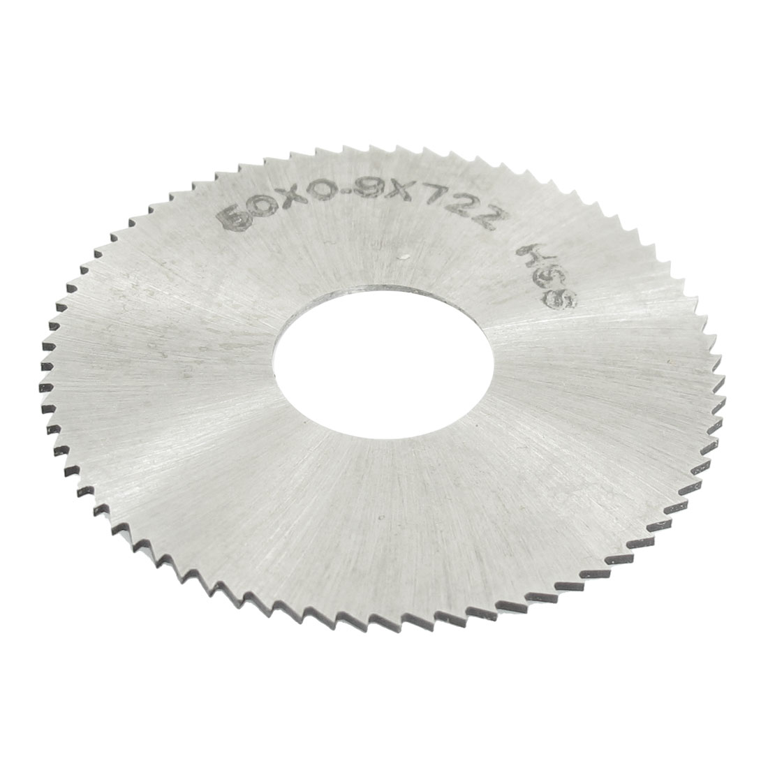 HSS 50mm Dia 0.9mm Thickness 72 Teeth Circular Milling Cutter Saw