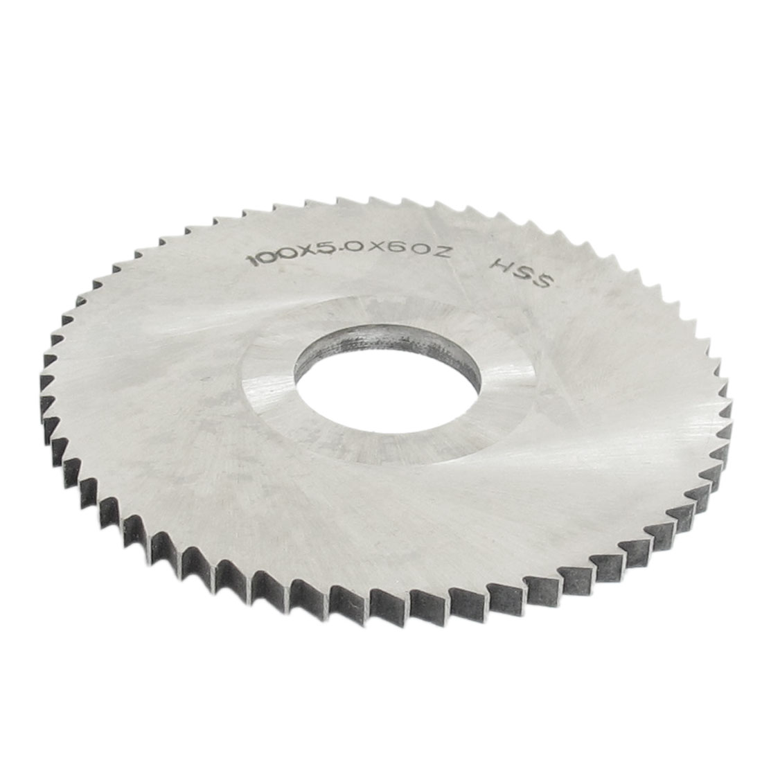HSS 100mm Dia 5mm Thickness 60 Teeth Circular Slitting Saw