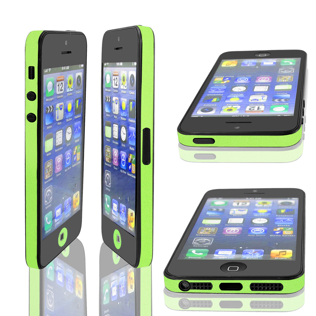 Green Bumper Side Edge Skin Decal Sticker for Apple iPhone 5 5G 5TH