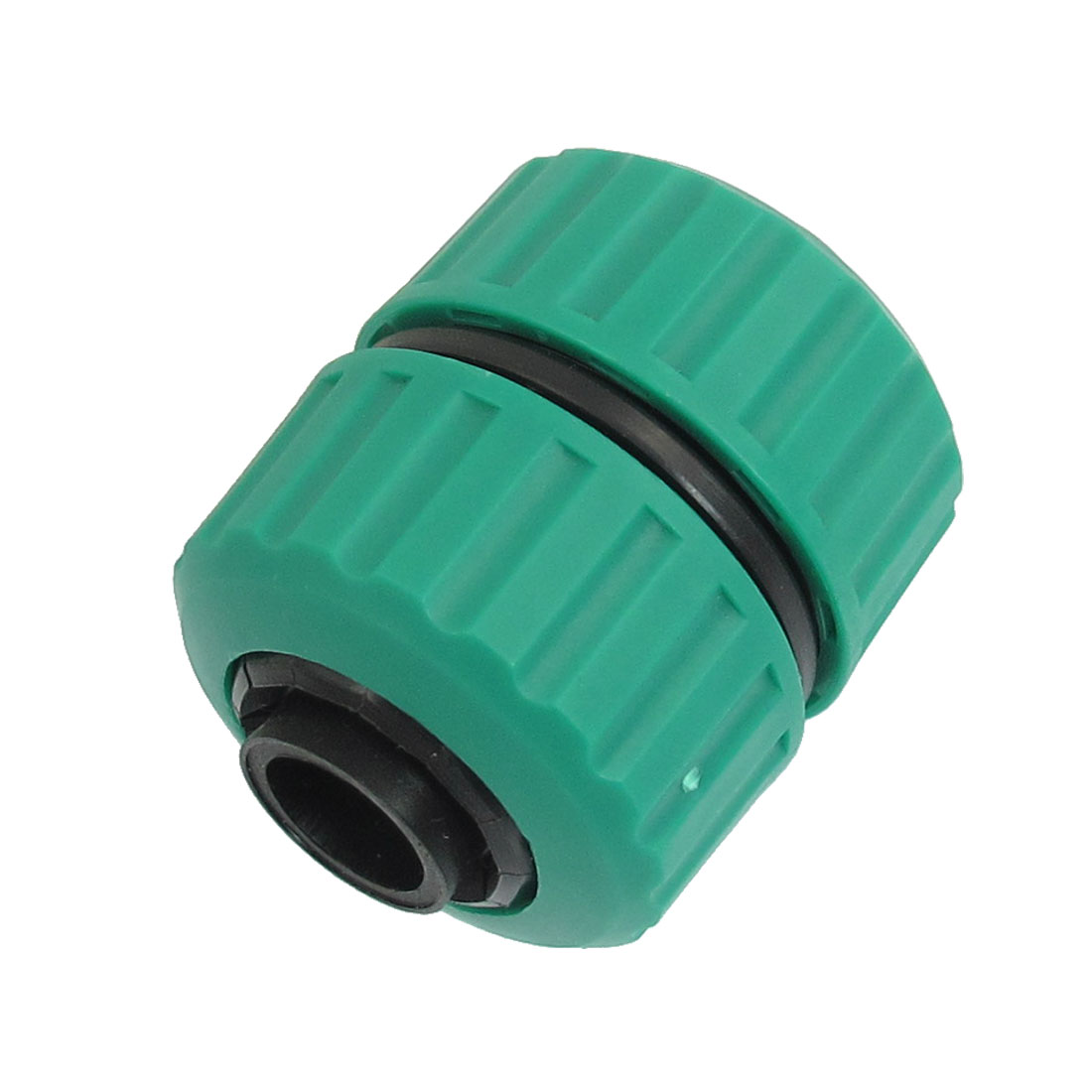 Plastic Garden Orchard 22mm-26mm OD Hose Connector Green Black
