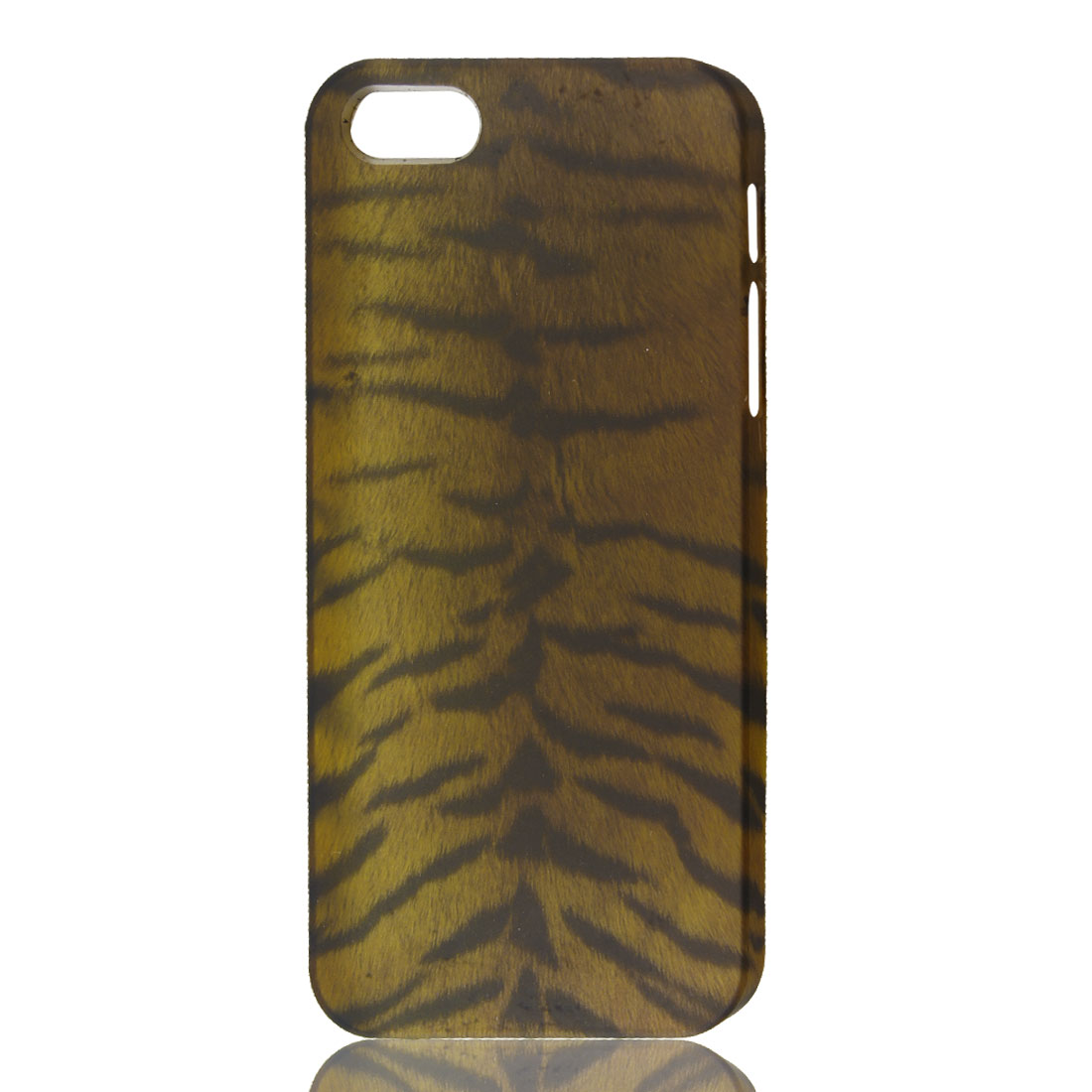 Brown Black Tiger Pattern Hard Back Case Cover for Apple iPhone 5 5G 5th
