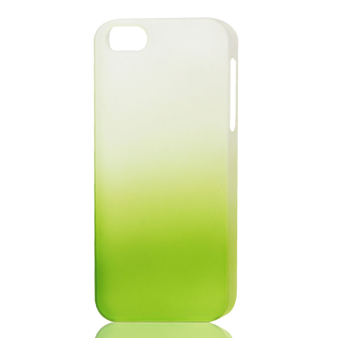Green White Gradient Hard Back Cover Case for iPhone 5 5G