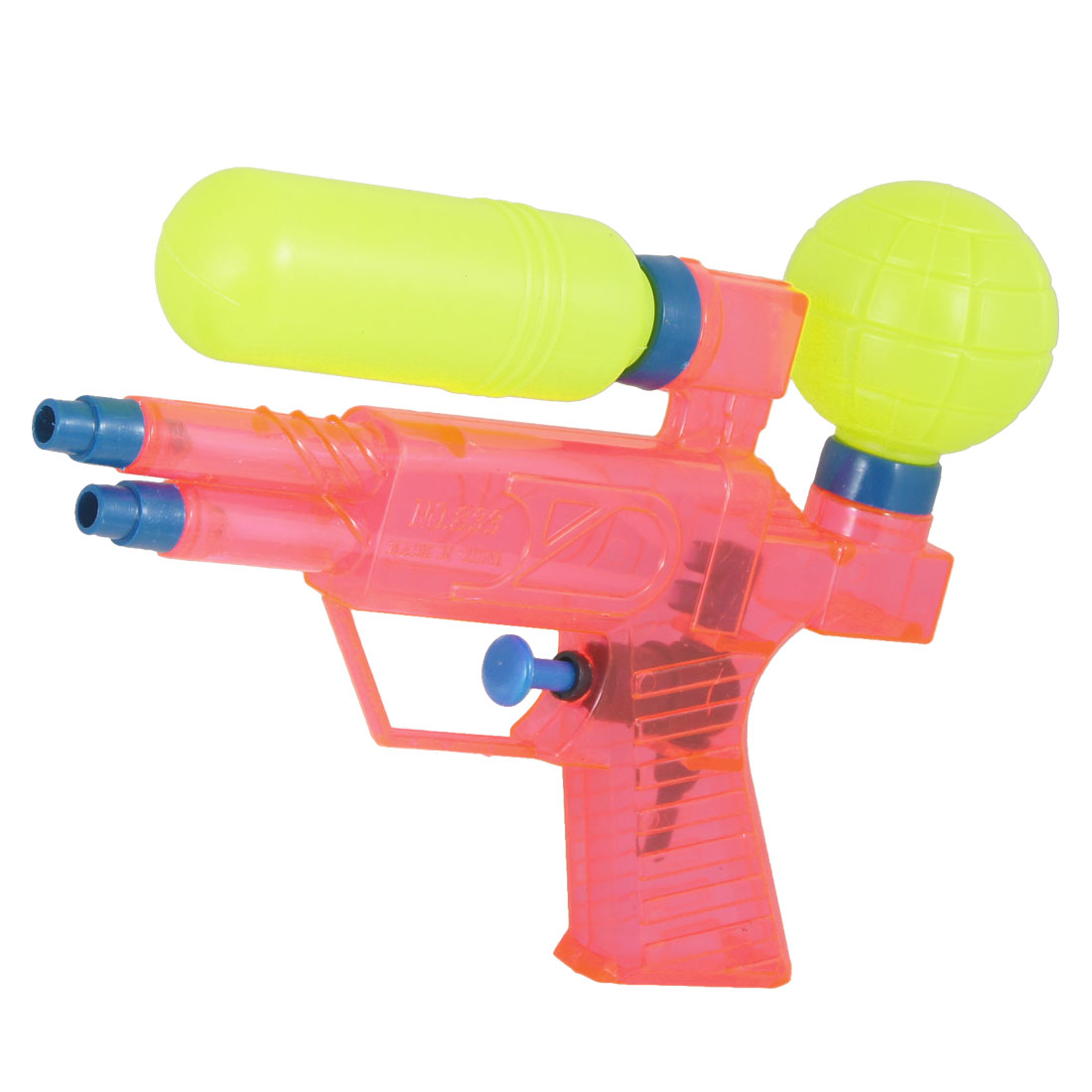 Children Play Pink Yellow Blue Plastic Water Squirt Gun Toy