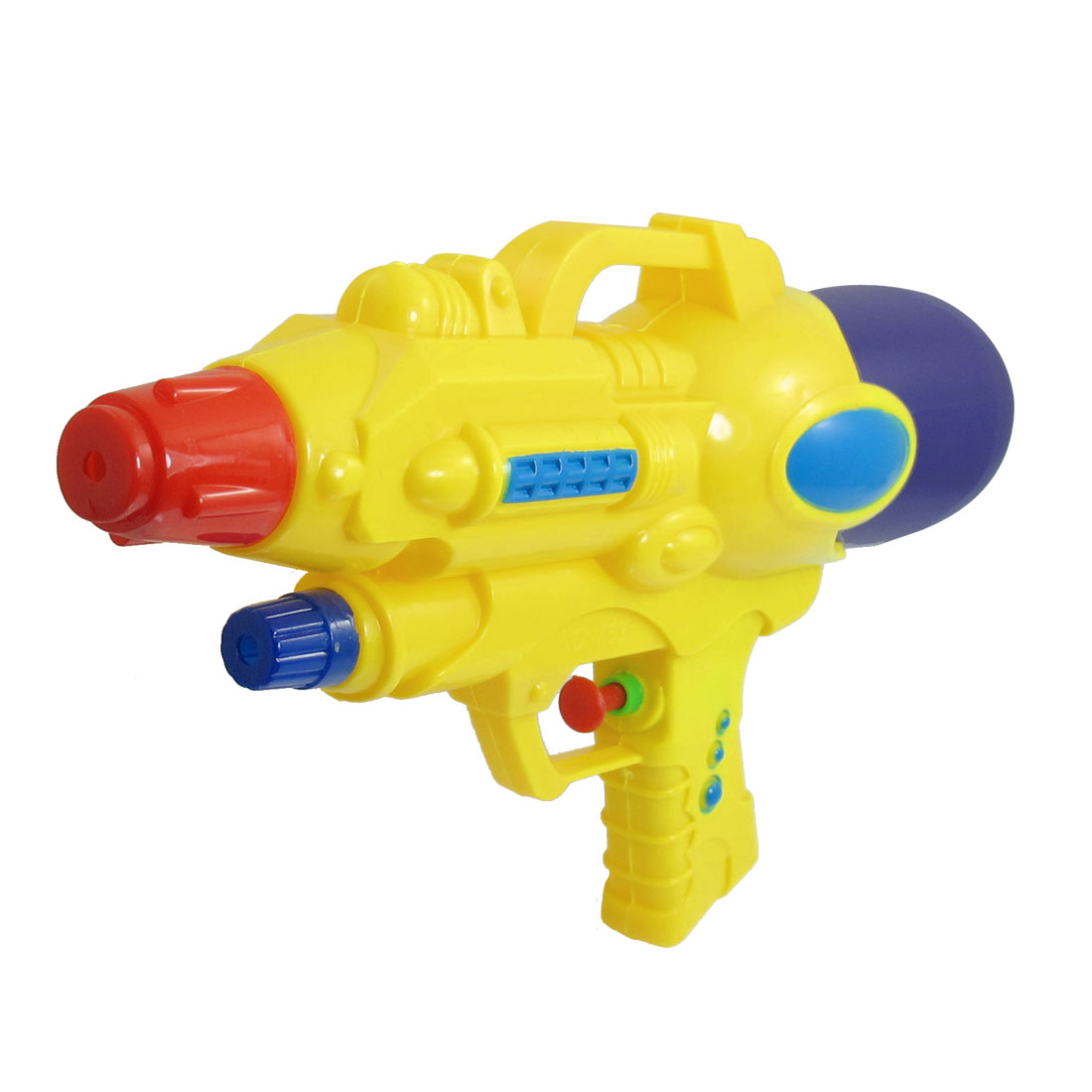"10.2"" Length Purple Yellow Plastic Water Spray Gun Squirt Toy for Children"