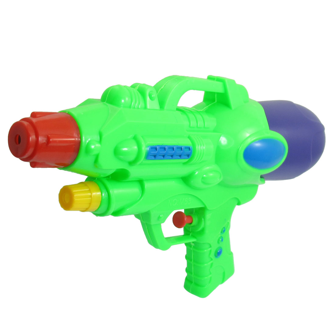 "10.2"" Long Purple Green Plastic Water Spray Gun Squirt Toy for Child"