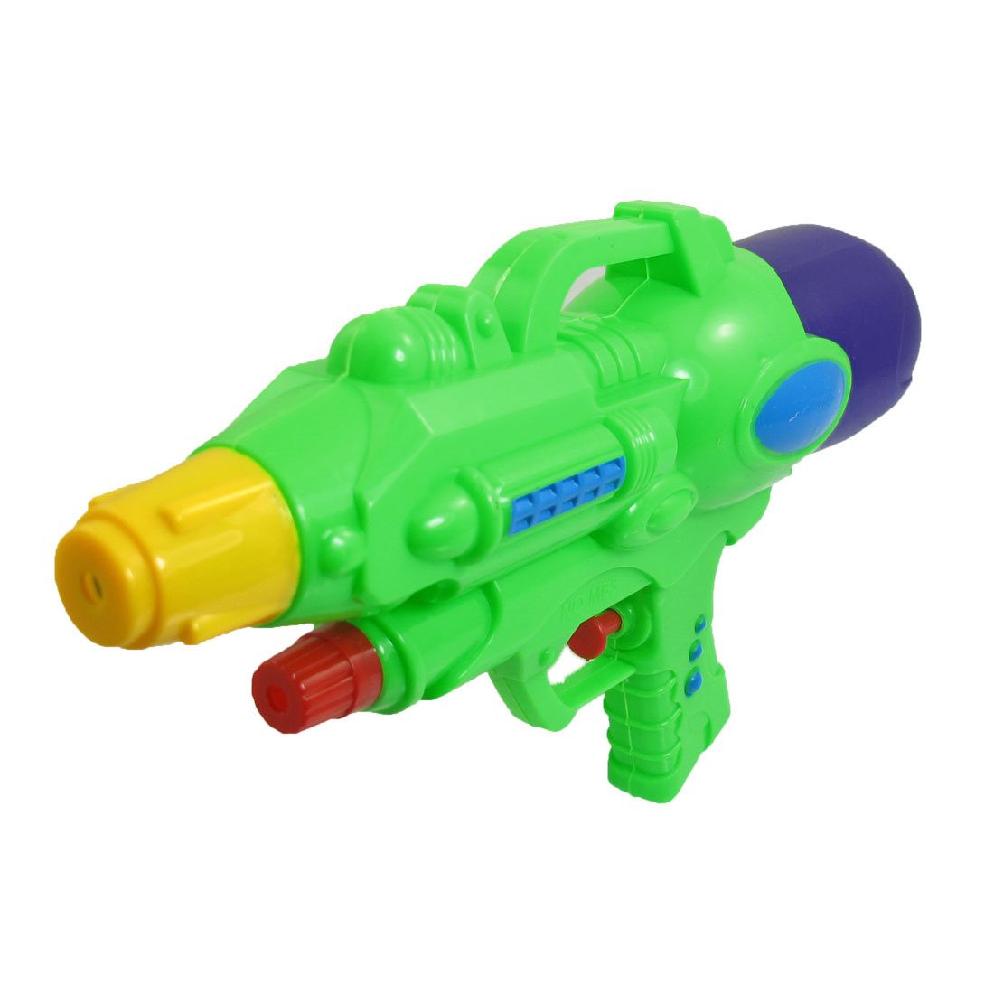 "10.2"" Length Purple Green Plastic Water Spray Gun Squirt Toy for Children"