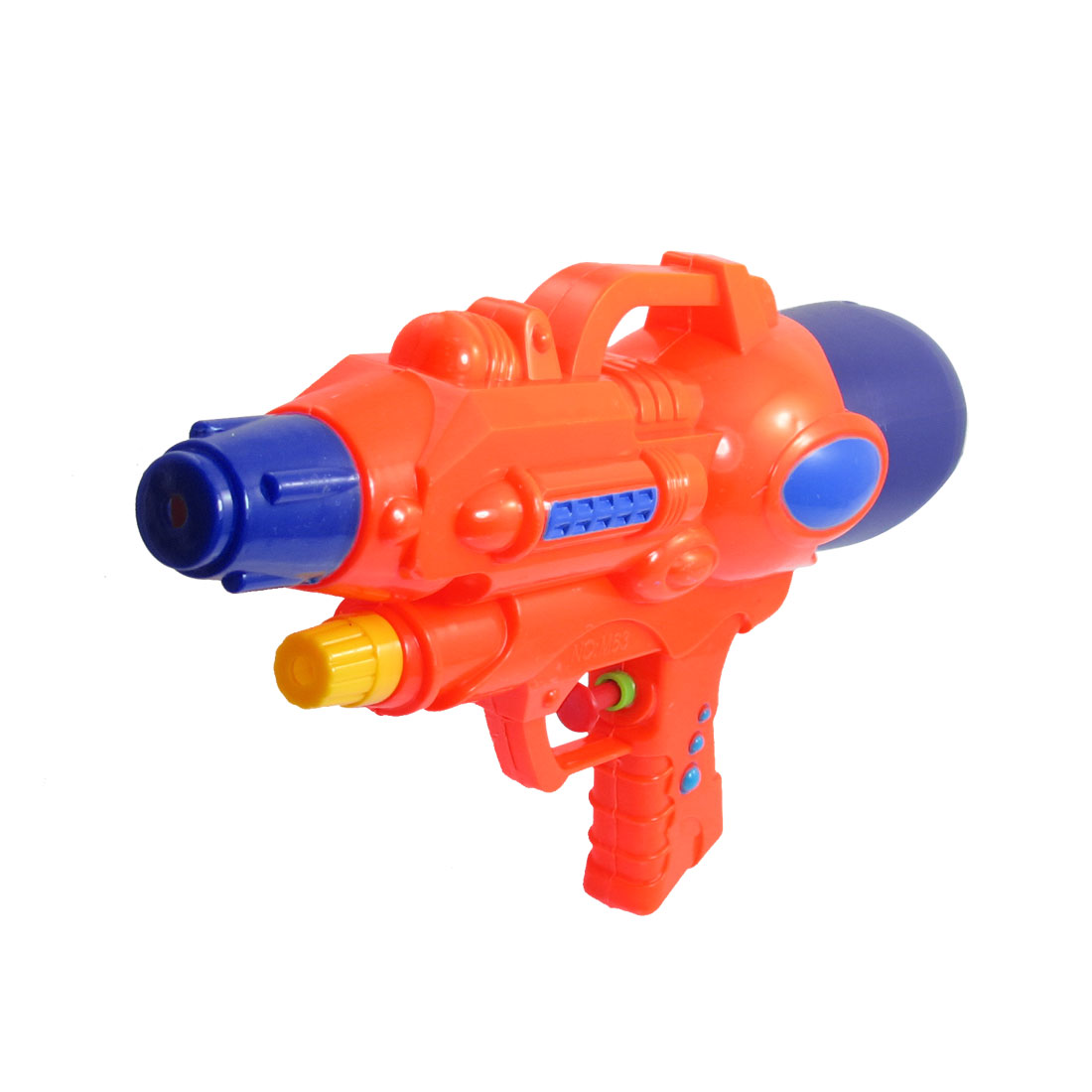 "10.2"" Length Purple Orange Plastic Water Spray Gun Squirt Toy for Children"