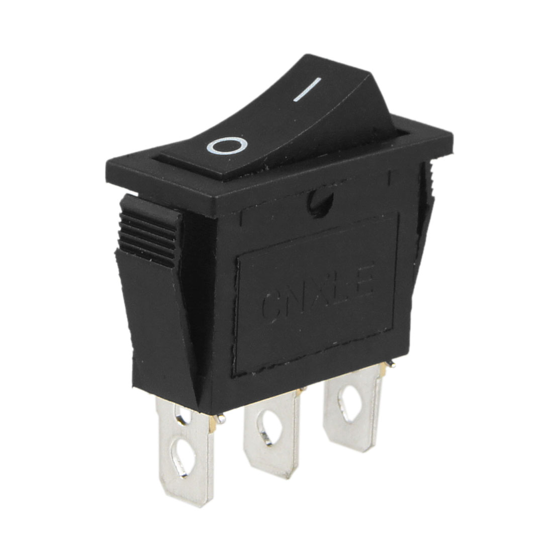 AC 250V 15A Black Plastic Housing 3 Pins ON OFF SPST Rocker Switch