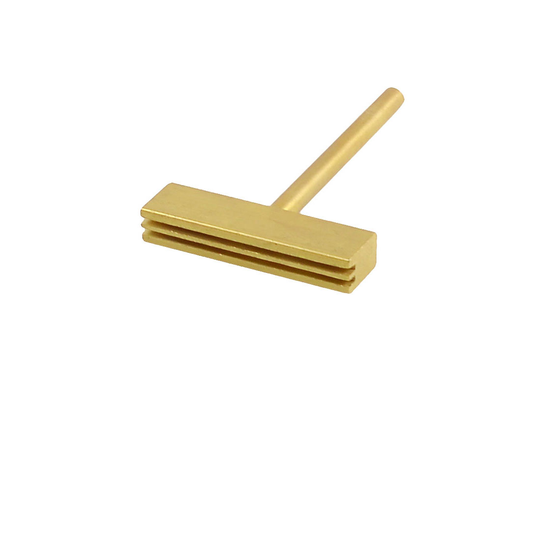 Ribbon Replacements 30W Gold Tone T Shaped Head for Soldering Iron