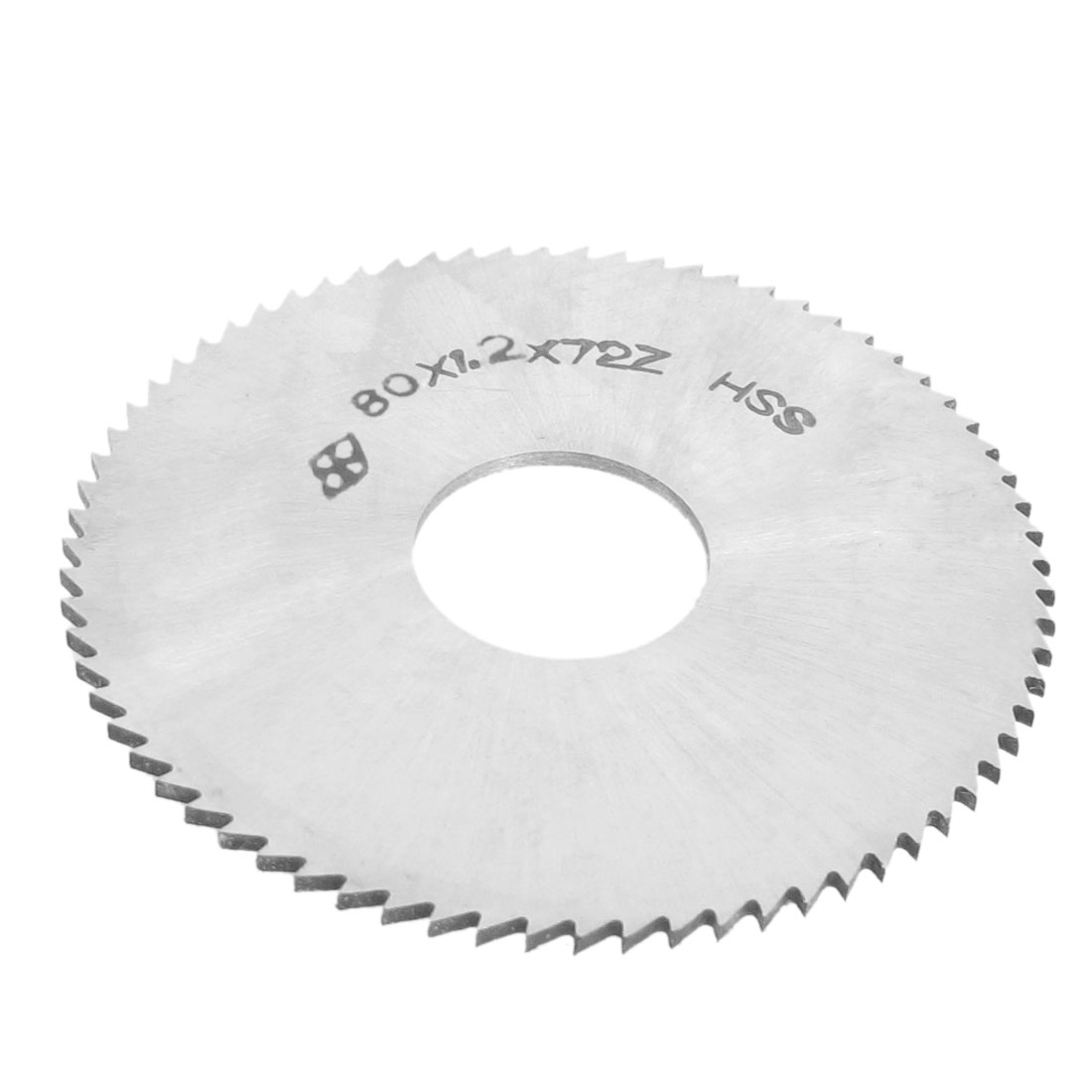 "72T 72 Tooth Blade HSS Slitting Saw Recessing Cutter 3 1/8"" x 7/8"" x 3/64"""